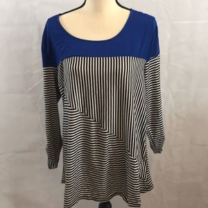 NY Collection NWT 3/4 sleeve blouse 1X